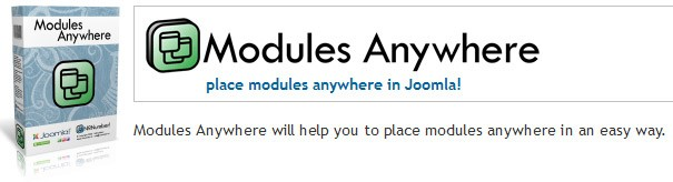Плагин Modules Anywhere v2.0.3
